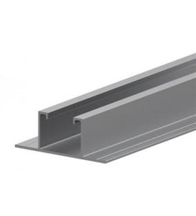 Profilo Alluminio base larga  L 3,1 mt