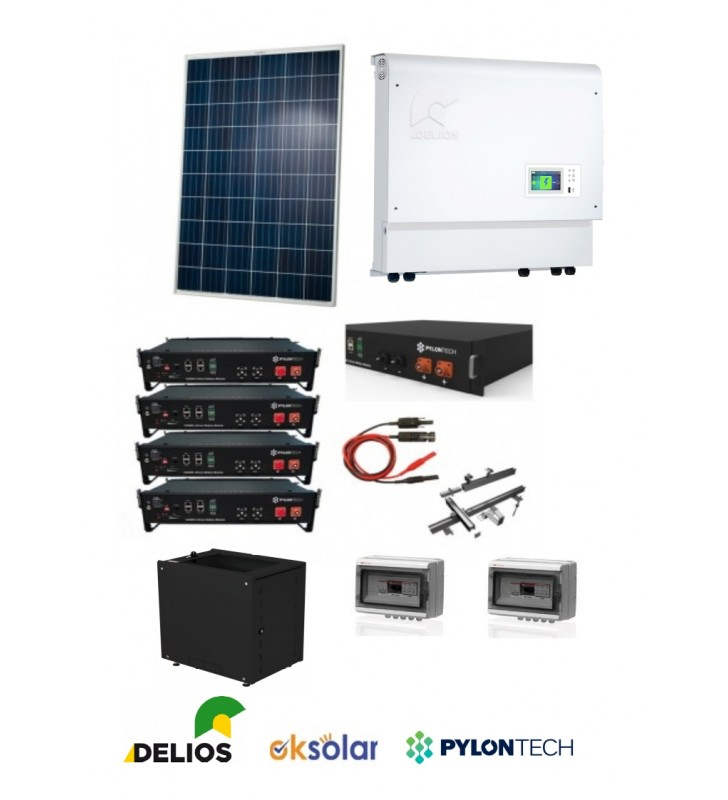 KIT ACCUMULO DELIOS  6KW  + 9,6KW BATTERIE COMPLETO