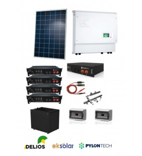 KIT ACCUMULO DELIOS  4,5KW  + 7,2KW BATTERIE COMPLETO
