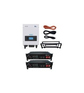 KIT ACCUMULO ZCS  3000SP + Batterie Litio Pylontech 4,8 kWh
