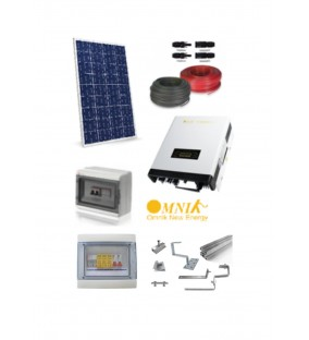 KIT 3KW  FOTOVOLTAICO COMPLETOVersione Energy