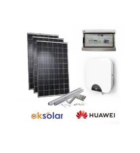 KIT 3KW FOTOVOLTAICO COMPLETO Versione Energy Plus