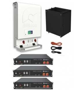 KIT INVERTER DELIOS  3KW  + BATTERIA 7,2KW