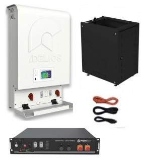 KIT INVERTER DELIOS Retrofit  3KW  + BATTERIA 2,4KW