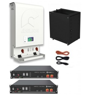 KIT INVERTER Retrofit DELIOS  3KW  + BATTERIA 4,8KW