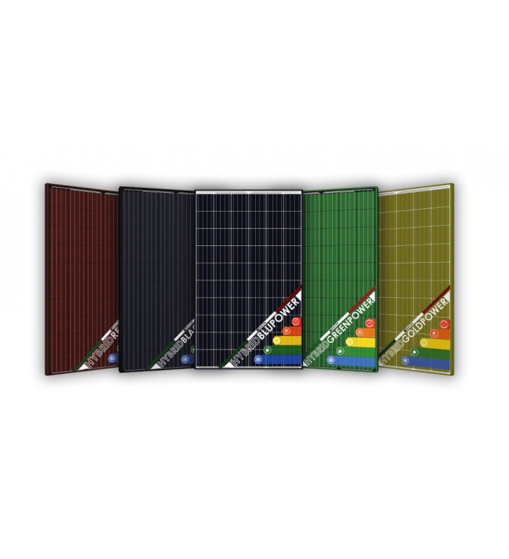 Pannello Termofotovoltaico Solink 255W HFS HYBRID Color