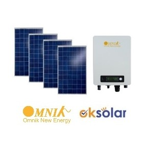 KIT 1,5KW Fotovoltaico Basic